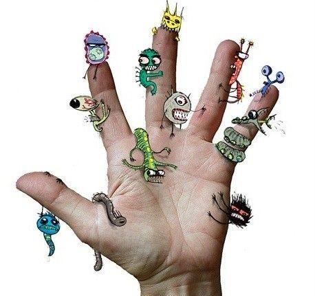 глисты и паразиты у человека фото