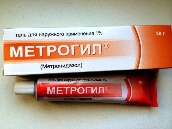 Метрогил гель: применение при демодекозе