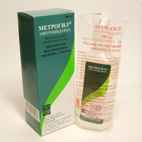 метронидазол от паразитов